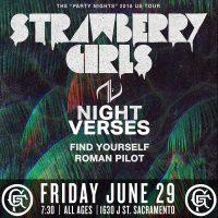 Strawberry Girls and Night Verses