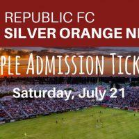 Silver Orange Night at Republic FC