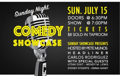 Sunday Night Comedy Showcase