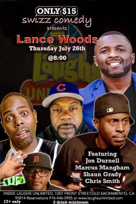 Swizz Comedy Presents Lance Woods and Friends