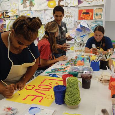 Manetti Shrem Museum Artist-Led Workshops