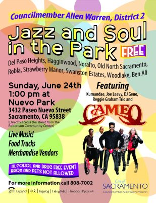 District 2 Jazz and Soul in the Park Featuring Cam...