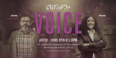 Creativity+ Voice: Maya Wallace and John Forrest