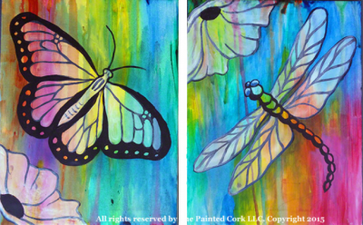 Paint a Butterfly or Dragonfly