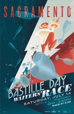 Sacramento Bastille Day Waiters' Race