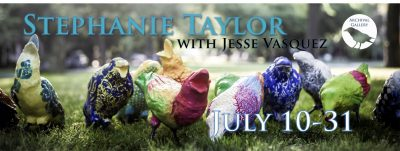 The Artwork of Stephanie Taylor and Jesse Vasquez