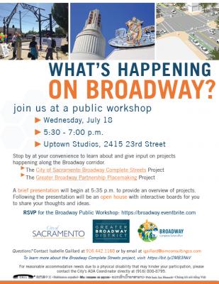 Broadway Corridor Public Workshop