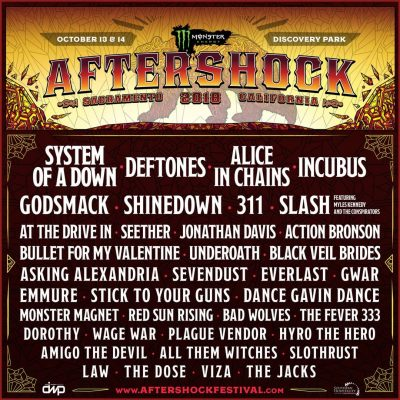 Monster Energy's Aftershock 2018