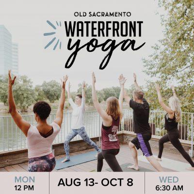 Old Sacramento Waterfront Yoga