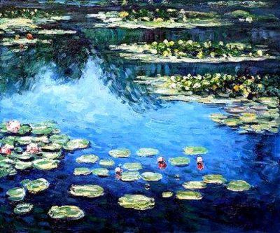 Paint Monet's Waterlilies