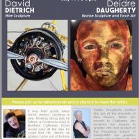 Meet the Artists: David Dietrich and Deidre Daugherty