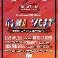 Alma West Premier Latin Food and Music Festival