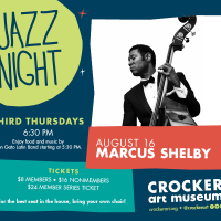 Jazz Night at the Crocker Series