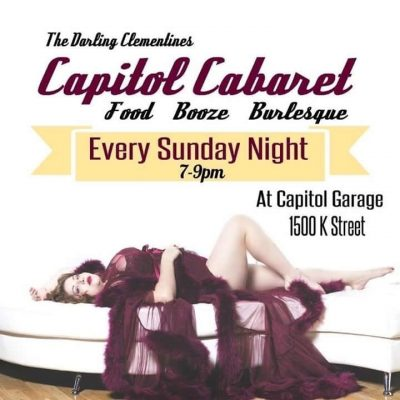 Capitol Cabaret presented by The Darling Clementin...