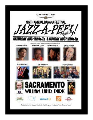 Sacramento Banana Festival: Jazz-A-Peel