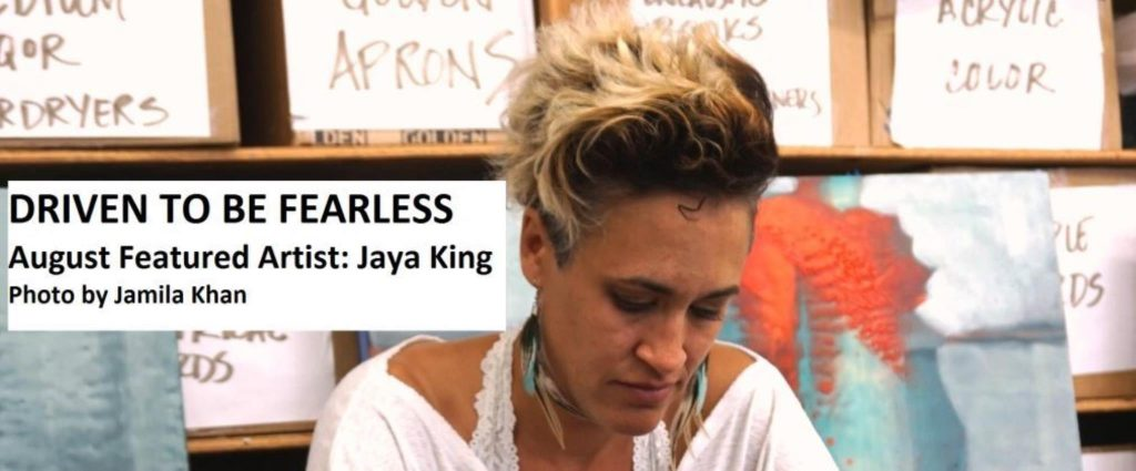 Driven to Be Fearless: Jaya King