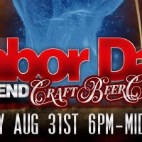 Labor Day Weekend Craft Beer Crawl