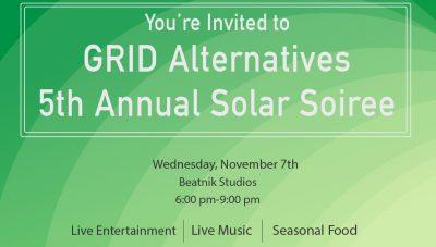 GRID Alternatives 5th Annual Solar Soiree