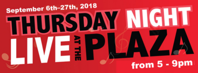 Thursday Night Live at the Plaza