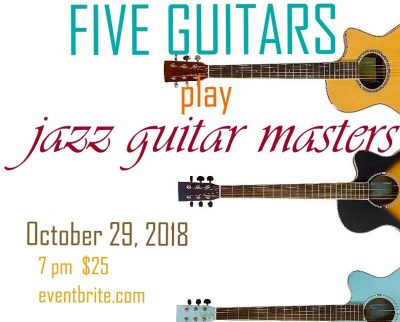 Five Guitars Play the Jazz Masters