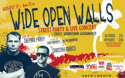 Wide Open Walls Street Party and Live Concert