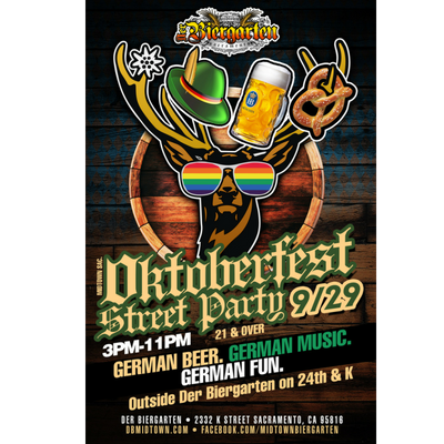Midtown Sacramento Oktoberfest presented by Der BierGarten