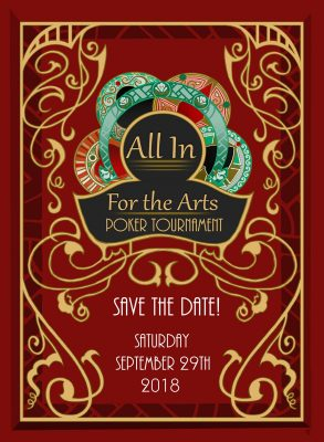 All In for the Arts Poker Tournament