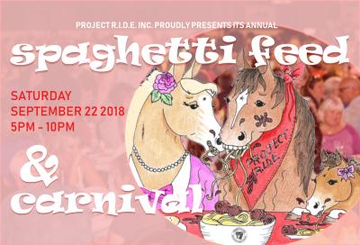 Project R.I.D.E.'s Spaghetti Feed and Carnival