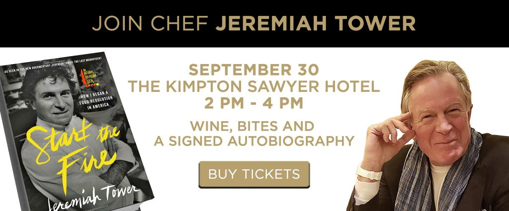 Meet and Greet with Jeremiah Tower