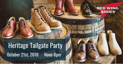 Red Wing Shoes Heritage Tailgate Party