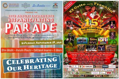 Sacramento Hispanic/Latino Parade and El Grito en la Franklin