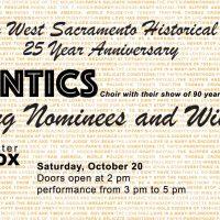 West Sacramento Historical Society 25th Anniversary Event
