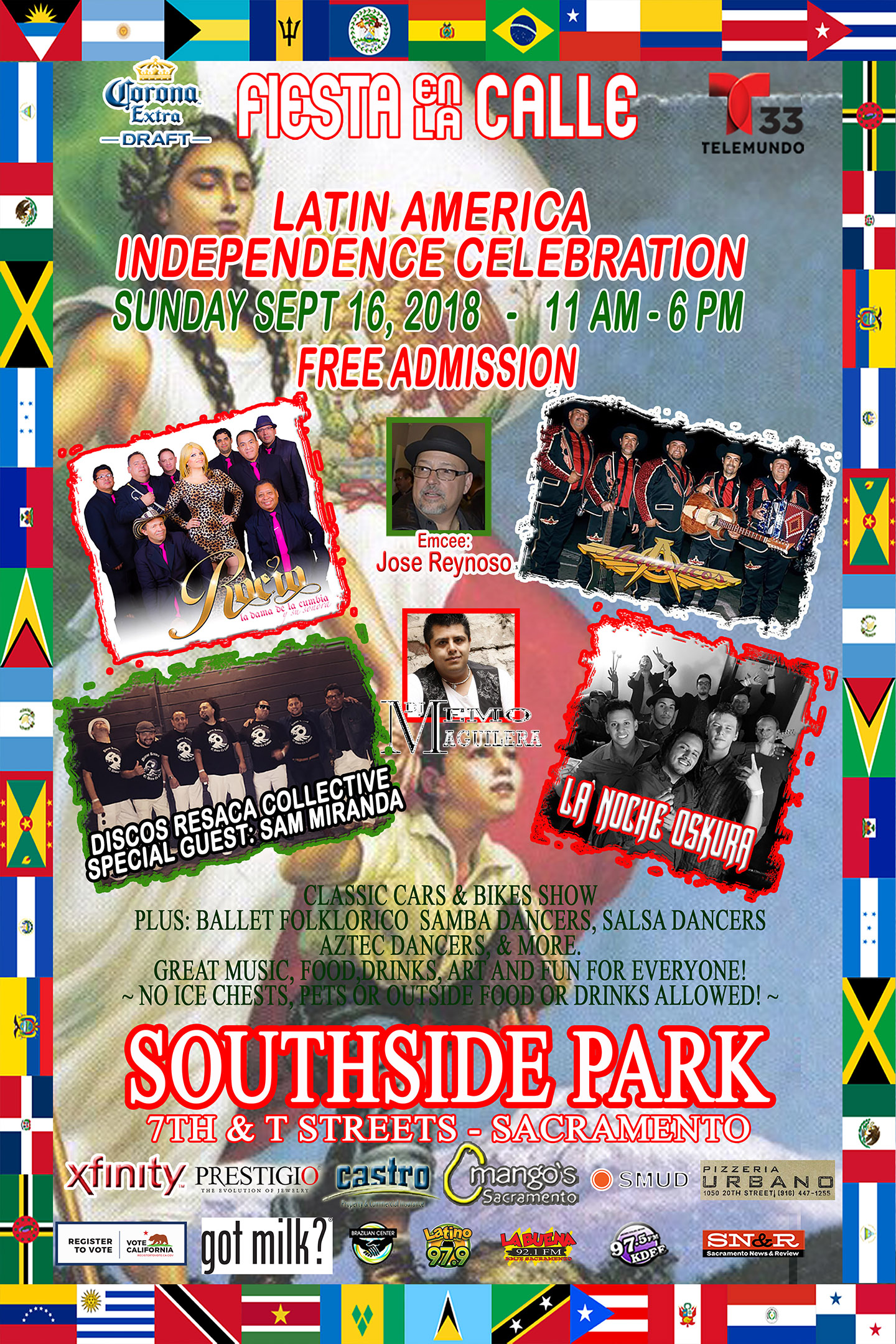 Fiesta En La Calle Latin American Independence Celebration ...