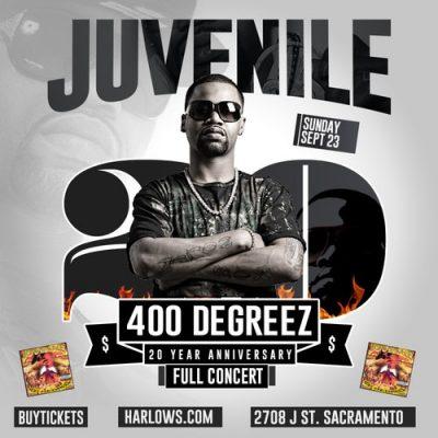 Juvenile: 400 Degreez (20 Year Anniversary Tour)