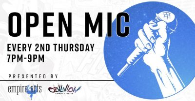 Open Mic at Oblivion Comics and Coffee