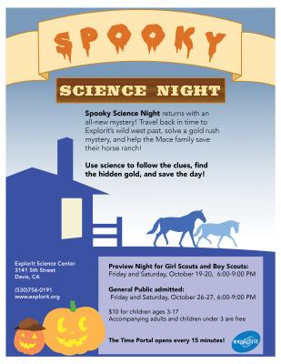 Spooky Science Nights
