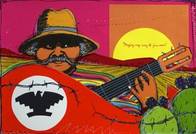 Cantos del Pueblo: Honoring Raza Music and Día de Los Muertos Art Exhibit