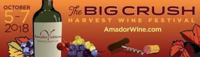 The Big Crush Harvest Wine Festival 2018