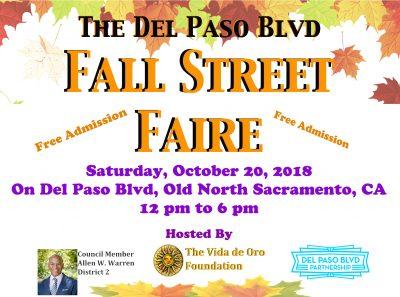 Del Paso Boulevard Fall Street Faire