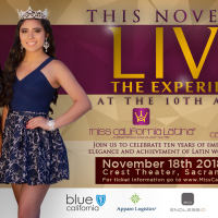 10th Annual Miss California Latina Pageant