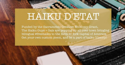 Haiku D'Etat Poetry Pop-Up