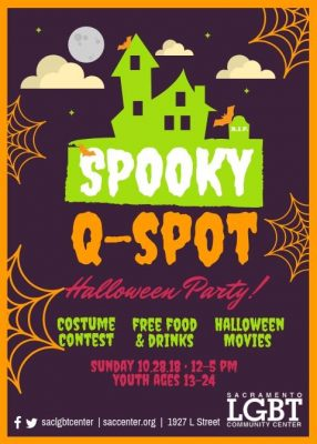 LGBTQ Youth Halloween Party