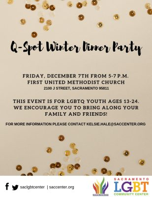 LGBTQ Youth Winter Dinner Party