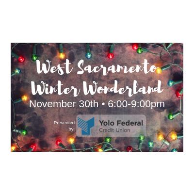 West Sacramento Winter Wonderland Tree Lighting