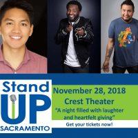 Stand Up Sacramento Comedy Showcase