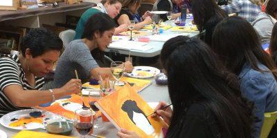 Calavera Paint and Sip Workshop (Día de los Muertos Oak Park)