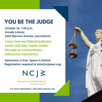 You Be the Judge Workshop