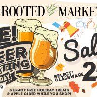 Beer Tasting and Holiday Treats