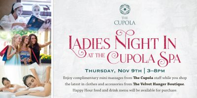 Ladies' Night In at The Cupola