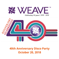 WEAVE'S 40th Anniversary Disco Celebration